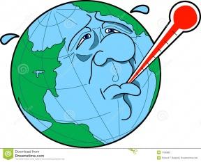 288x233 Global Warming Clip Art Clipart