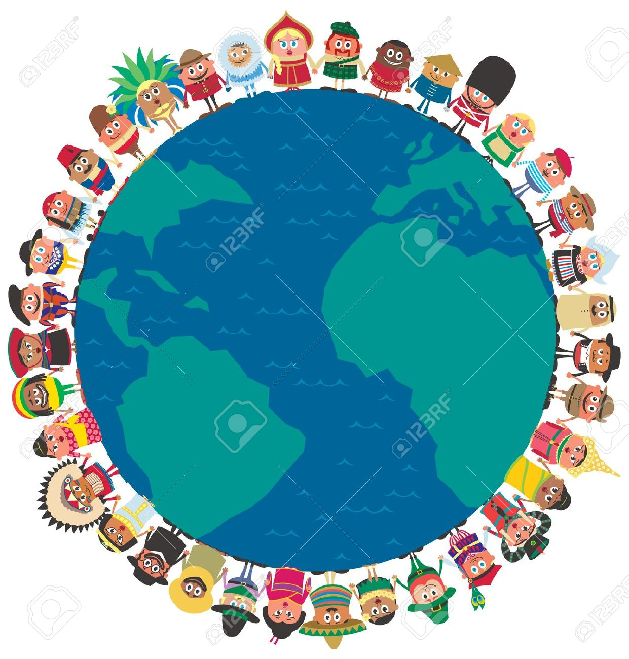 1241x1300 Globalisation Clipart