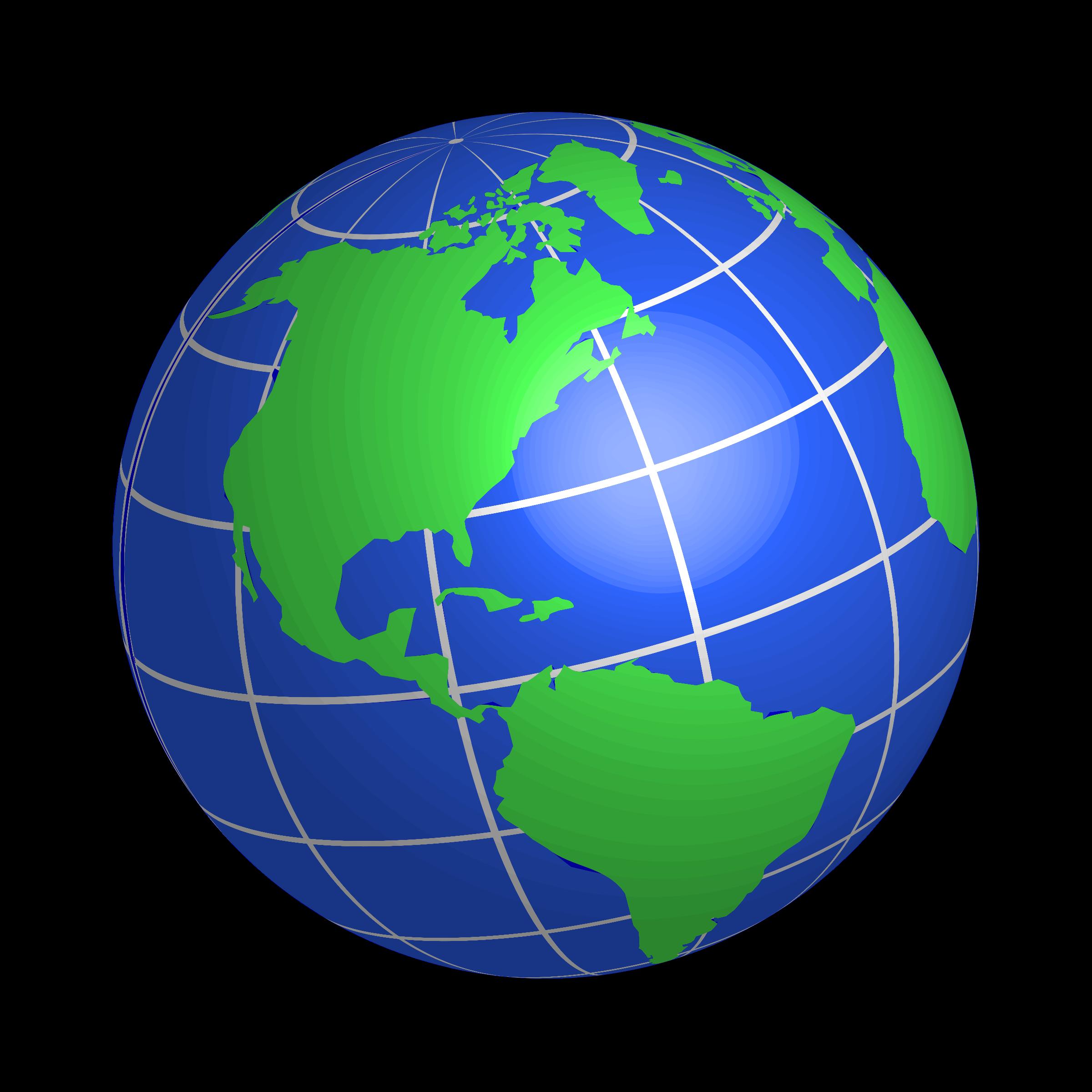 2400x2400 Technology Clipart Globe