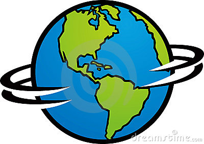 400x283 Globe Clipart Spinning
