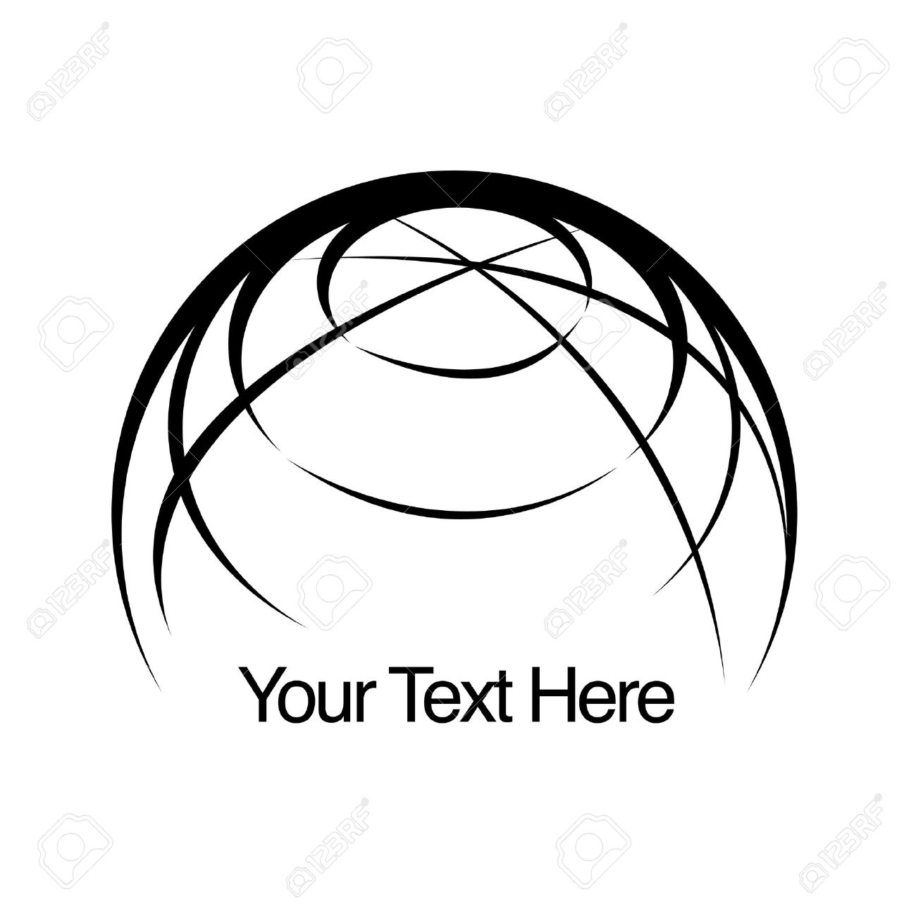 1300x1300 Globe Earth Logo Royalty Free Cliparts, Vectors, And Stock