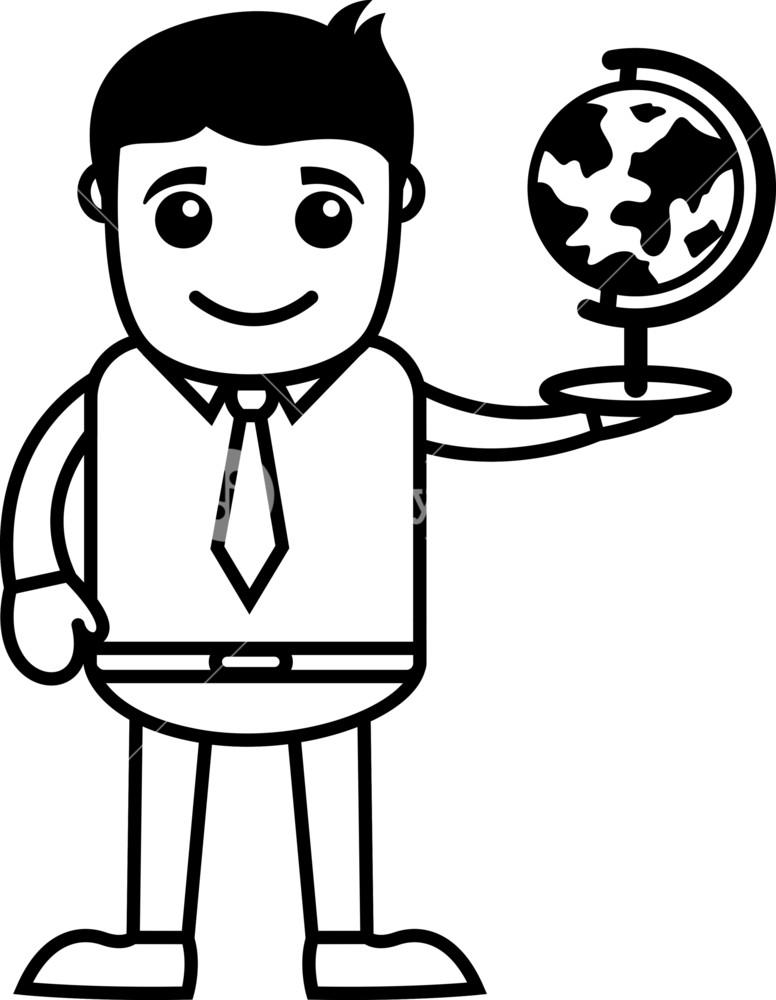 776x1000 Man Holding Globe