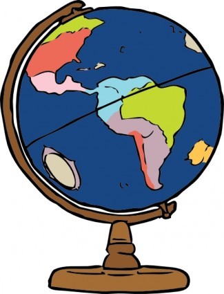 325x425 Earth Globe Clip Art Free Clipart Images