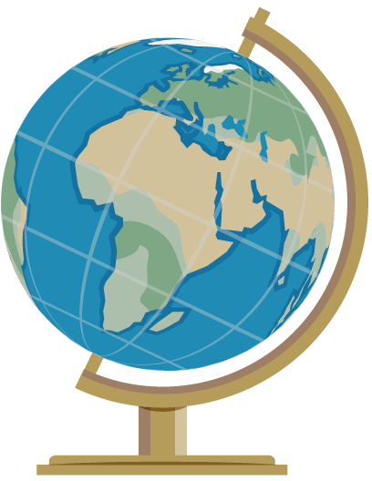408x528 Globe Free To Use Clipart