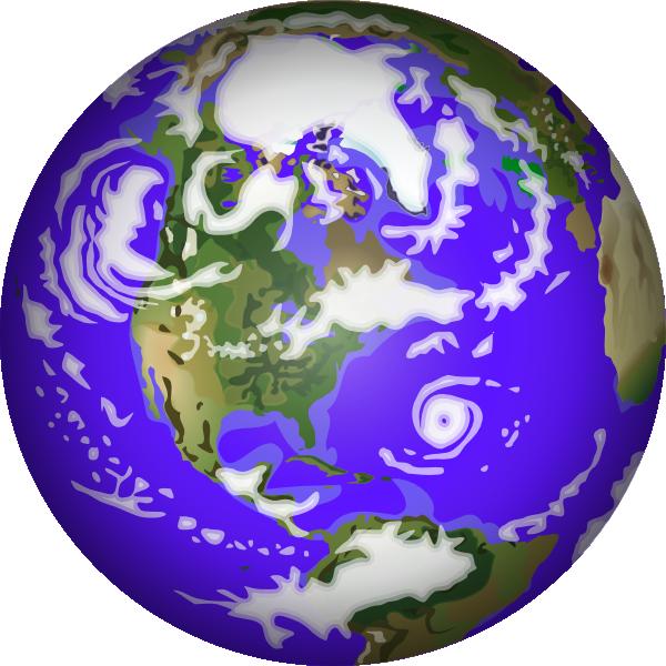 600x600 Planet Earth Clip Art