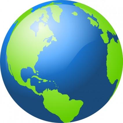 425x425 Earth Globe Clip Art Clipart Panda