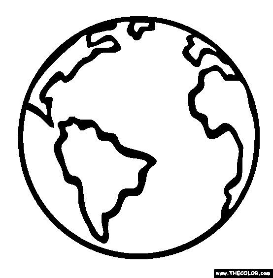 554x565 Ideas About Earth Coloring Pages Earth Day