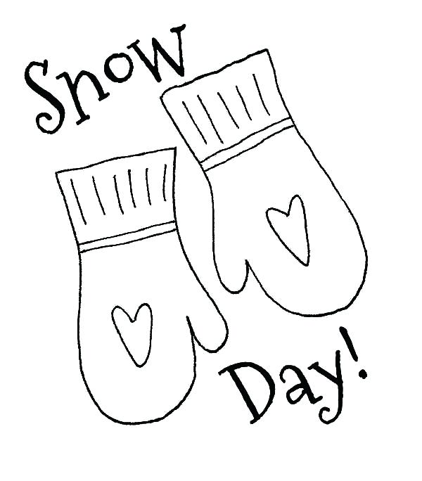 600x684 Snow Globe Coloring Page Printable Mittens For Day Pages Color