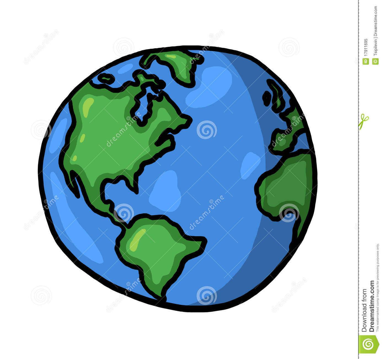 1389x1300 Drawn Globe Planet Earth