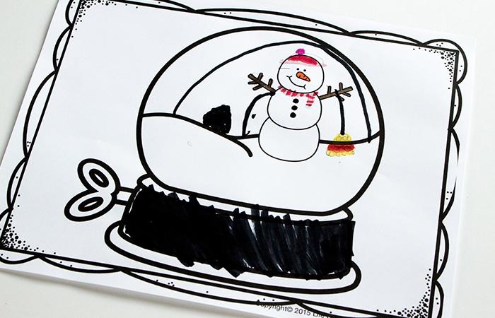700x450 Snow Globe Drawing Prompts