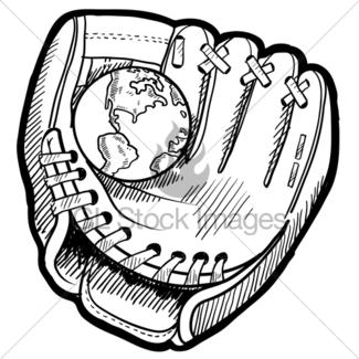 325x325 Desktop Globe Sketch Gl Stock Images