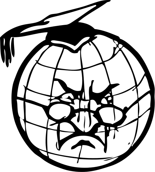 500x554 Globe Black And White Free Globe Clipart 1 Page Of Free To Use