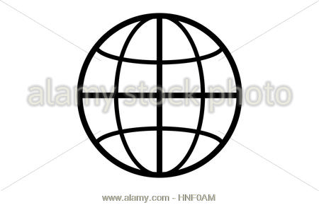 450x290 Globe World Map Pictogram Stock Vector Art Amp Illustration, Vector