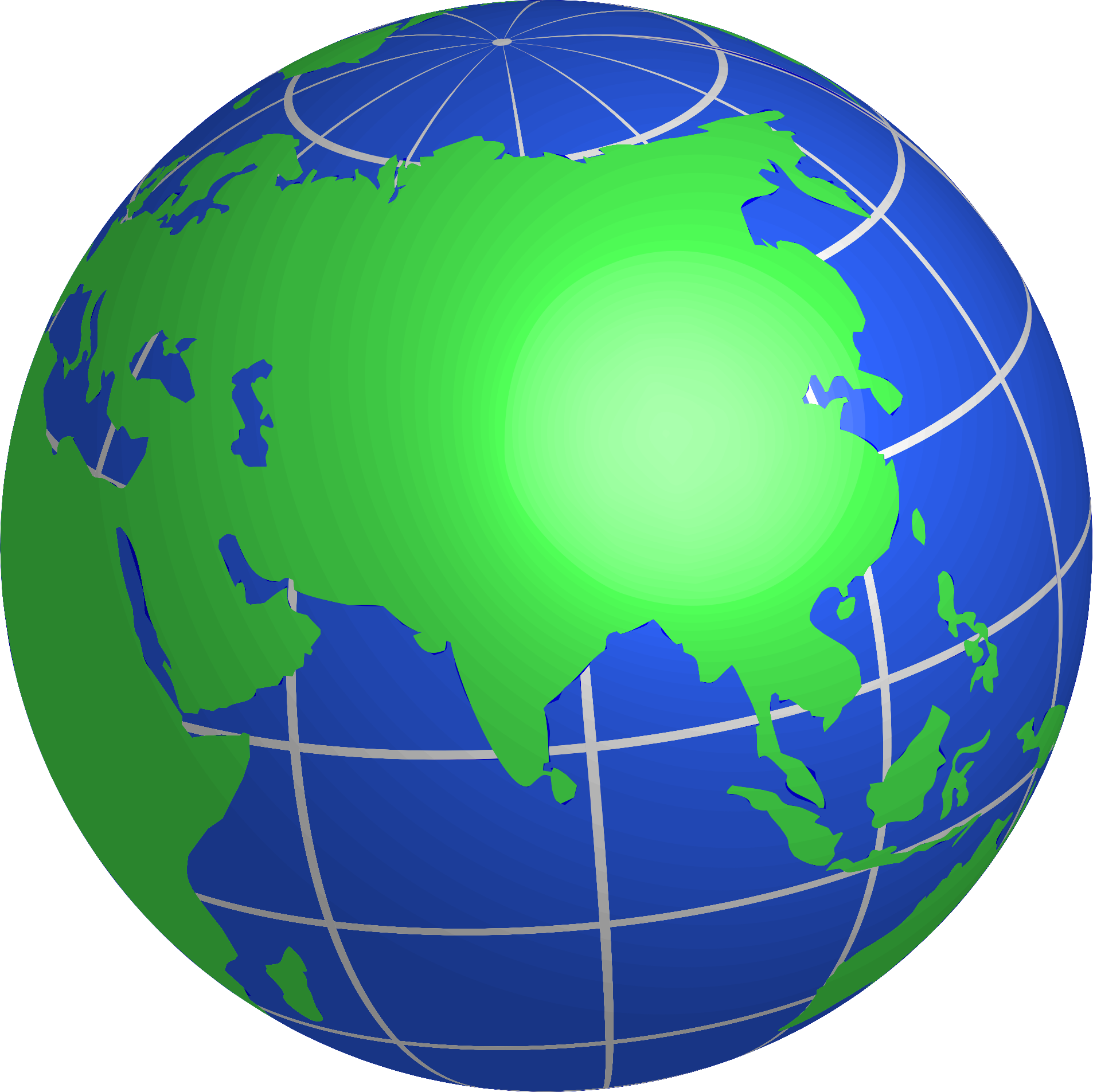 1906x1905 Asian Clipart Globe
