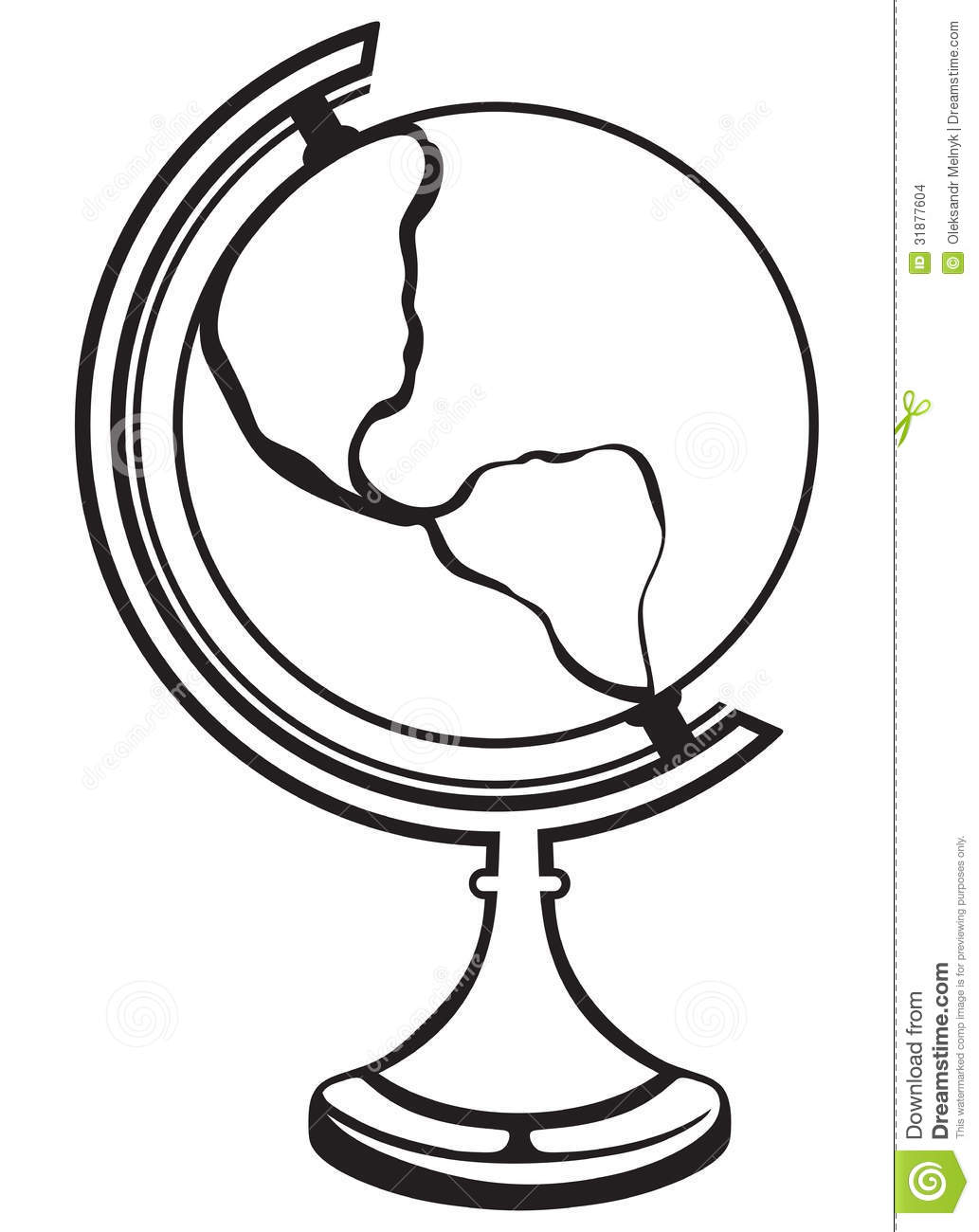 1033x1300 Globe Black And White Outline Clipart Panda