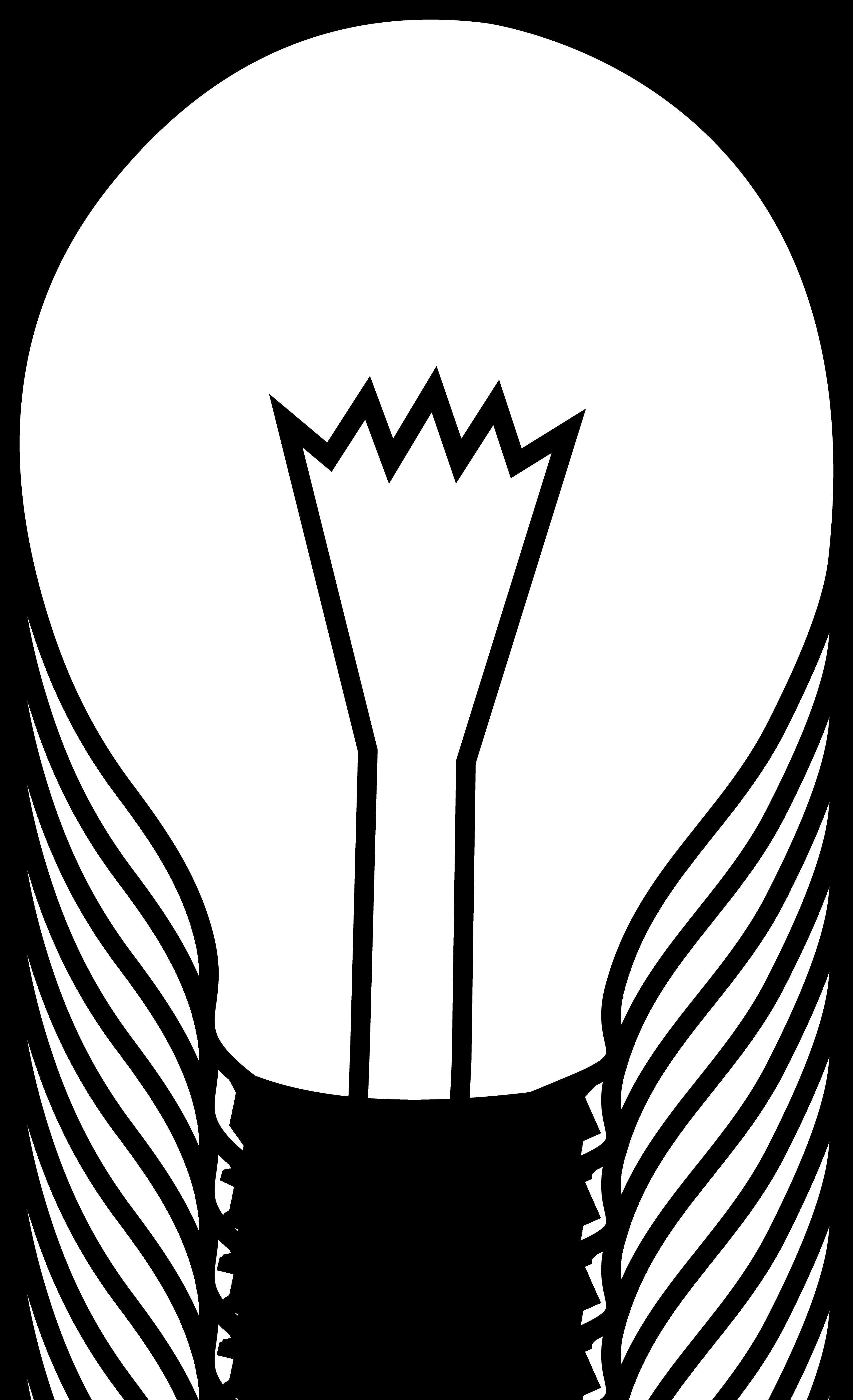 3629x5957 Light Globe Clipart
