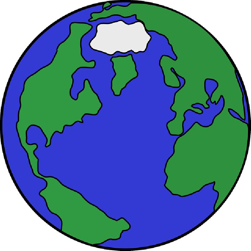 800x800 Black, Simple, Australia, Outline, Europe, Globe, Map