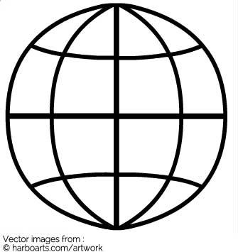 335x355 Download Globe Outline