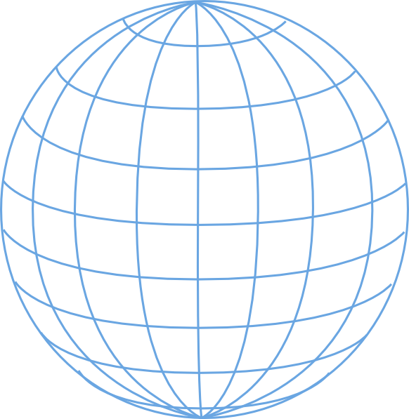 582x597 Big Blue Wire Globe Png, Svg Clip Art For Web