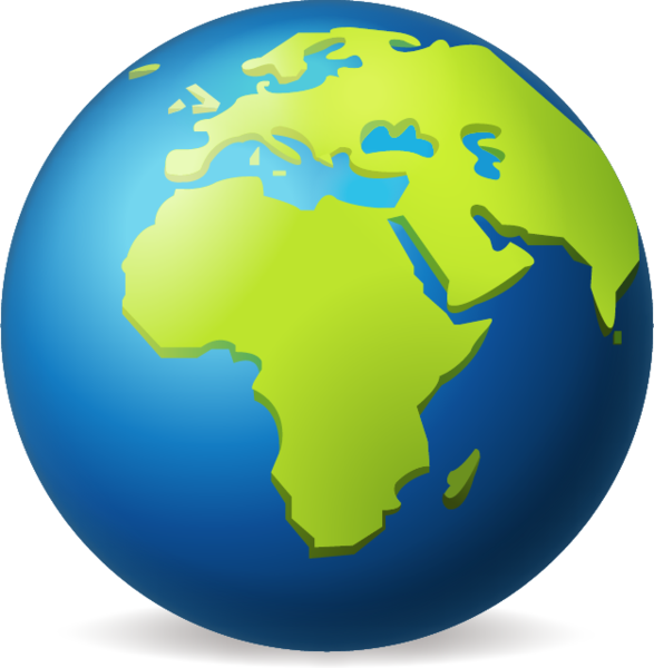 587x600 Download Earth Globe Europe Africa Emoji Image In Png Emoji Island