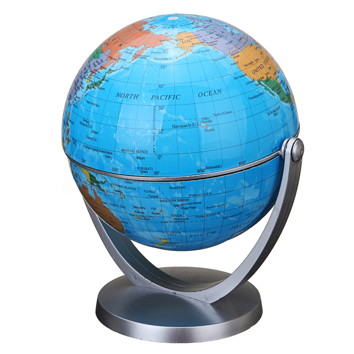1200x1200 360 Degree Rotating Globes Earth Ocean Globe World Geography Map
