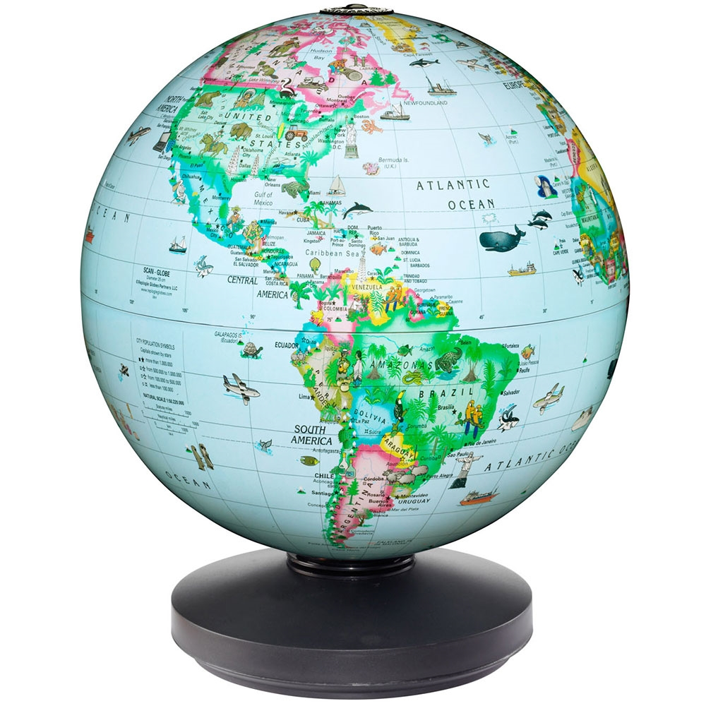 1000x1000 Replogle Rotating Globe For Kids Free Shipping