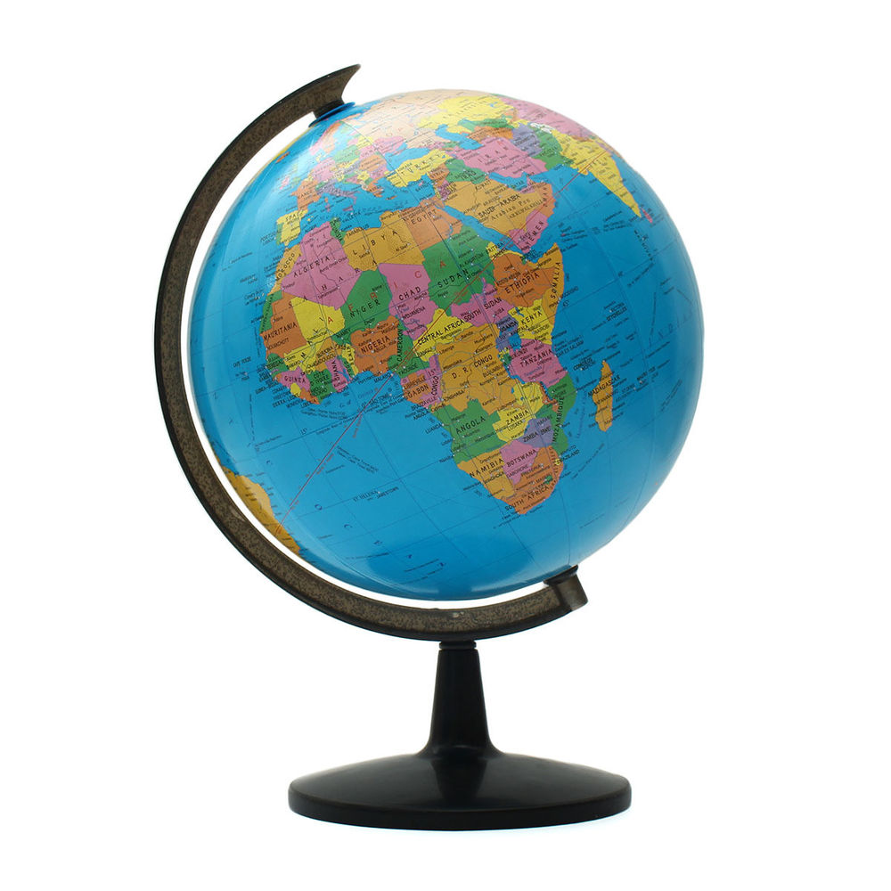 1000x1000 Big Rotating Desktop Globes Earth Ocean Globe World Geography
