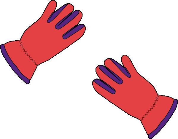 600x469 2 Gloves Clip Art