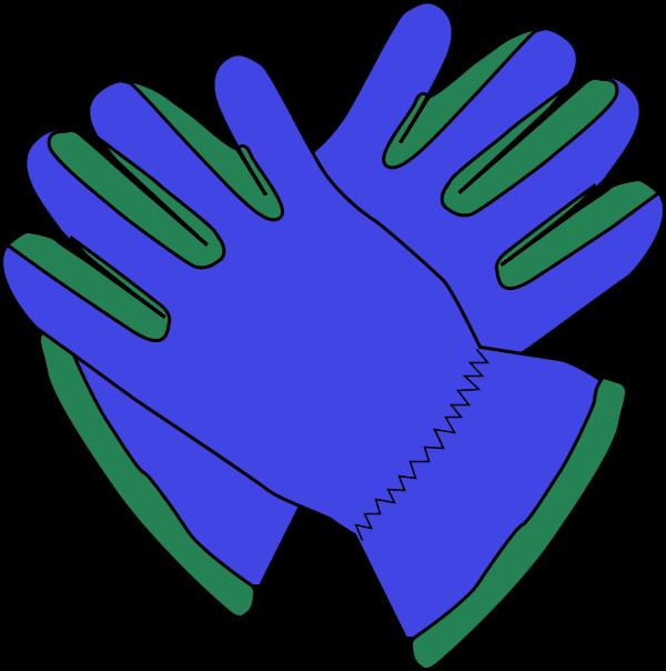 600x604 Glove Clip Art