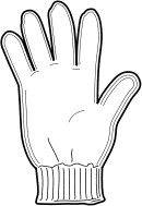 130x189 Glove Clip Art