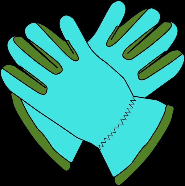 600x604 Glove Clipart Gardening Glove