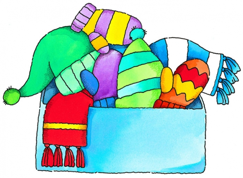 820x601 Glove Clipart Winter Jacket