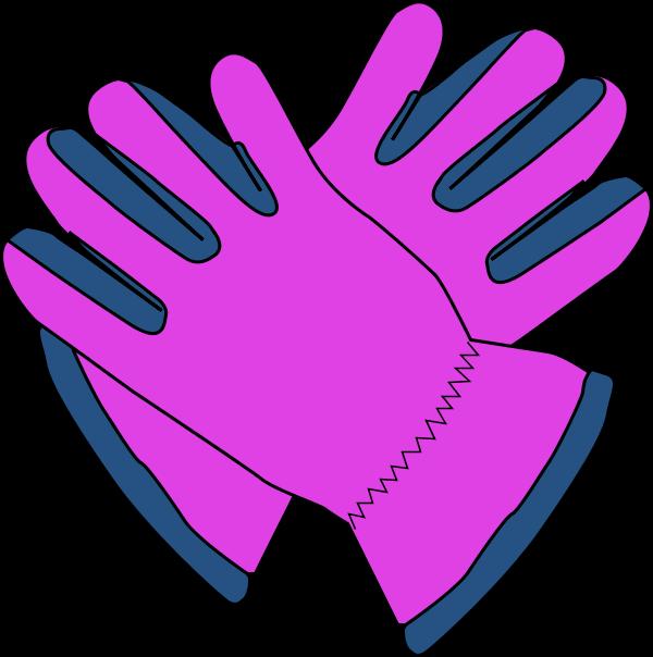 600x604 Glove clipart work glove