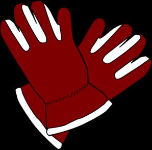 298x294 Red Gloves Clip Art