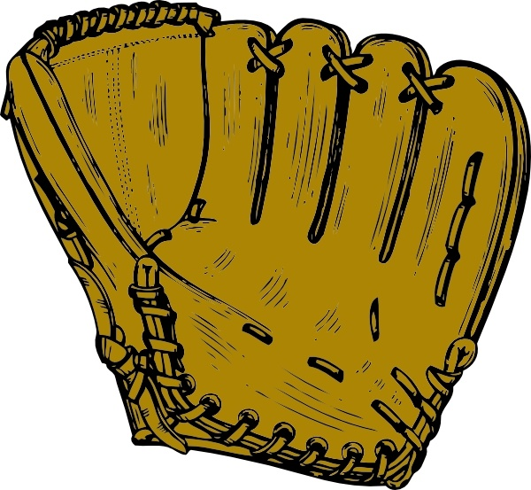 600x553 Baseball Glove Clip Art Free Vector In Open Office Drawing Svg