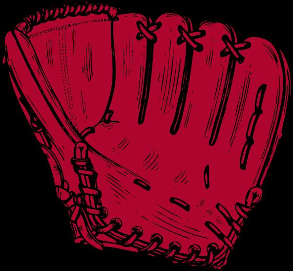 600x554 Baseball glove clip art 2