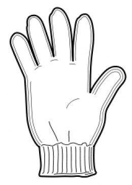 260x363 Work Gloves Clipart