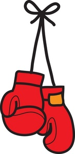 146x300 Boxing Gloves Clipart Image