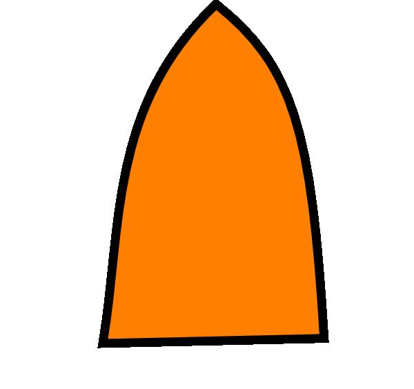 600x564 Orange Glue Bottle Tip Clip Art