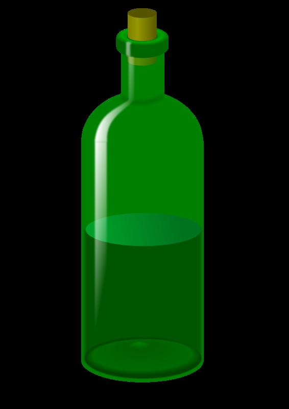 566x800 Color Glue Bottle Clipart