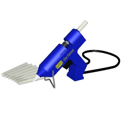 400x400 Glue Gun Glue Stick Clip Art Cliparts