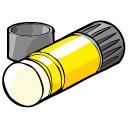 128x128 Glue Stick Clipart