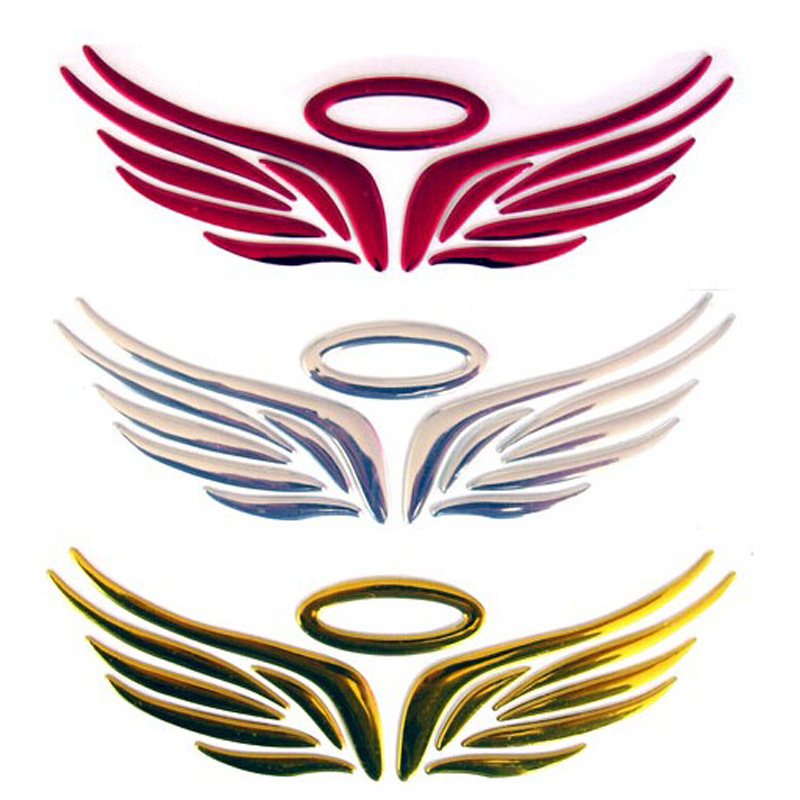 800x800 Buy 3 D Sell Like Hot Cakes Angel Wings Sticker