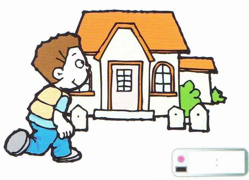 811x589 House Clipart Go Home