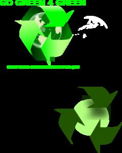 240x300 Go Green 4 Green Clip Art