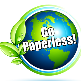 325x325 Go Green Go Paperless
