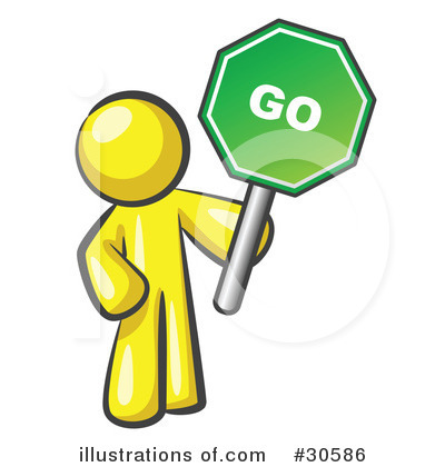 400x420 Go Sign Clipart