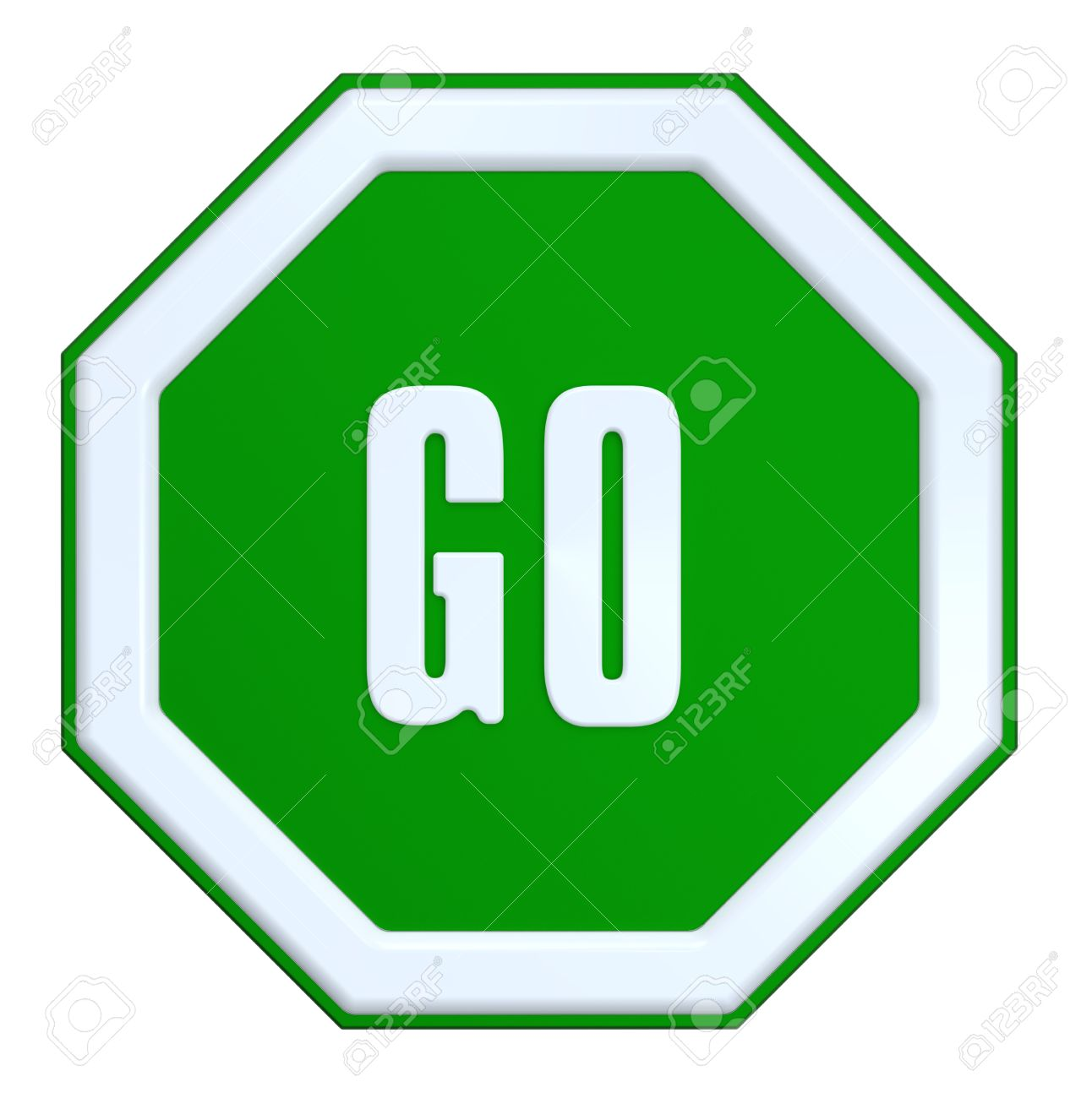 1292x1300 Best Green Go Sign