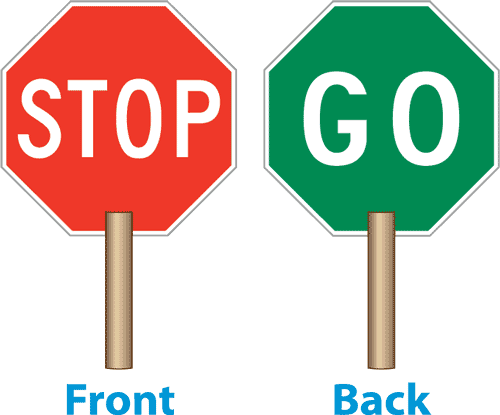 500x415 Stop Clipart Trafic