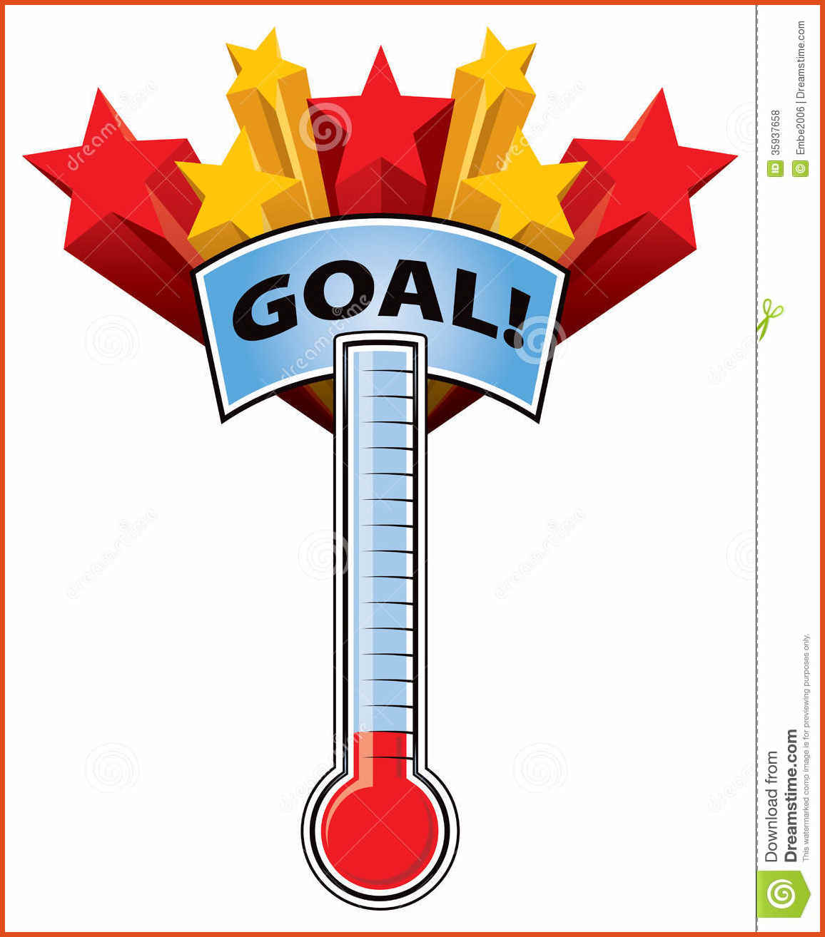1156x1314 Goal Thermometer Template Moa Format